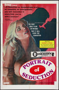 """Movie Posters:Adult, Portrait of Seduction (Essex, 1976). One Sheet (27"""" X 41"""") & Photos (4) (8"""" X 10""""). Adult.. ... (Total: 5 Items)"""