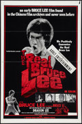 "Movie Posters:Action, The Real Bruce Lee (Cinematic, 1979). One Sheet (27"" X 41"") &Photos (4) (8"" X 10""). Action.. ... (Total: 5 Items)"