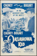 "Movie Posters:Western, The Oklahoma Kid (Dominant Pictures, R-1956). One Sheet (27"" X 41""). Western.. ..."