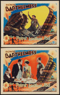 """Movie Posters:Drama, The Patent Leather Kid (First National, 1927). Lobby Cards (2) (11"""" X 14""""). Drama.. ... (Total: 2 Items)"""