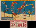 """Movie Posters:Miscellaneous, Champion Aerial Wonders (Unknown,1937). Partial Circus Poster (24.5"""" X 42""""). Miscellaneous.. ..."""