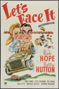 """Let's Face It (Paramount, 1943). One Sheet (27"""" X 41""""). Musical"""