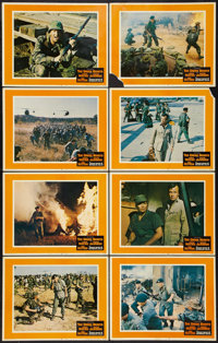 "The Green Berets (Warner Brothers, 1968). Lobby Card Set of 8 (11"" X 14""). War. ... (Total: 8 Item)"