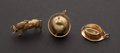 Estate Jewelry:Other , Three Gold Charms. ... (Total: 3 Items)
