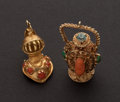 Estate Jewelry:Other , Two Gold Charms. ... (Total: 2 Items)