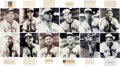 Autographs:Others, 1944 St. Louis Browns Signed Autograph Collection....