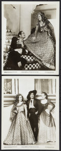 """Movie Posters:Adventure, The Private Life of Don Juan (United Artists, 1934). Photos (2) (8""""X 10""""). Adventure.. ... (Total: 2 Items)"""
