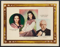 "Movie Posters:Academy Award Winners, Gone with the Wind (MGM, 1939). Roadshow Lobby Card (11"" X 14"").Academy Award Winners.. ..."
