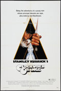 "Movie Posters:Science Fiction, A Clockwork Orange (Warner Brothers, 1971). One Sheet (27"" X 41"") R-Rated Style. Science Fiction.. ..."