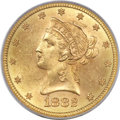Liberty Eagles, 1882-S $10 MS63 PCGS....