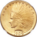 Indian Eagles, 1909-D $10 MS65 NGC....