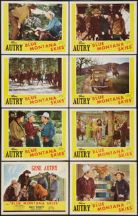 "Blue Montana Skies (Republic, R-1945). Lobby Card Set of 8 (11"" X 14""). Western. ... (Total: 8 Items)"