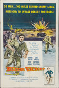 "Movie Posters:War, Bitter Victory (Columbia, 1958). One Sheet (27"" X 41""). War.. ..."