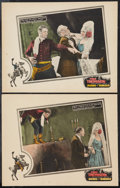 """Movie Posters:Western, Hands Across the Border (FBO, 1926). Lobby Cards (2) (11"""" X 14"""").Western.. ... (Total: 2 Items)"""