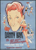 """Movie Posters:Comedy, The Kid from Brooklyn (Samuel Goldwyn, 1949). Danish Poster (24.5"""" X 33.5""""). Comedy.. ..."""