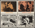 """Movie Posters:Academy Award Winners, Grand Hotel & Other Lot (MGM, R-1950s & R-1962). LobbyCards (4) (11"""" X 14""""). Academy Award Winners.. ... (Total: 4 Items)"""