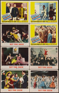 """Movie Posters:Musical, Hit the Deck & Other Lot (MGM, 1955). Lobby Cards (8) (11"""" X 14""""). Musical.. ... (Total: 8 Items)"""