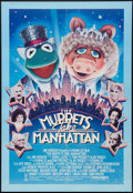 """Movie Posters:Comedy, The Muppets Take Manhattan (Tri-Star, 1984). One Sheet (27.5"""" X 40.5""""). Comedy.. ..."""