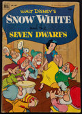 """Movie Posters:Animation, Walt Disney's Snow White and the Seven Dwarfs (Dell Publishing, #382, 1952). Comic Book (Multiple Pages, 7.25"""" X 10.25""""). An..."""