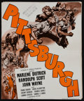 "Movie Posters:Drama, Pittsburgh (Universal, 1942). Uncut Pressbook (Multiple Pages, 11.5"" X 14""). Drama.. ..."