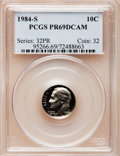 Proof Roosevelt Dimes: , 1984-S 10C PR69 Deep Cameo PCGS. PCGS Population (2498/154). NGCCensus: (401/64). Numismedia Wsl. Price for problem free ...