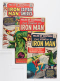 Silver Age (1956-1969):Superhero, Tales of Suspense Group (Marvel, 1964-65) Condition: Average VF-.... (Total: 4 Comic Books)