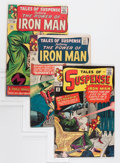 Silver Age (1956-1969):Superhero, Tales of Suspense Group (Marvel, 1964-65) Condition: Average VG+.... (Total: 7 Comic Books)
