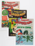 Silver Age (1956-1969):Superhero, The Amazing Spider-Man #29, 35, and 38 Group (Marvel, 1965-66) Condition: Average FN.... (Total: 3 Comic Books)