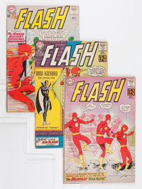 The Flash Group (DC, 1962-66) Condition: Average VG+.... (Total: 12 Comic Books)