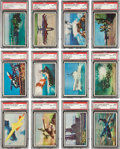 "Non-Sport Cards:Sets, 1954 Bowman ""Power For Peace"" Complete Set (96) - #2 on the PSA SetRegistry! ..."