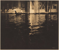 EDWARD STEICHEN (American, 1879-1973) Late Afternoon, Venice, 1913 Photogravure 6-1/8 x 7-3/8 inc