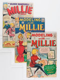 Silver Age (1956-1969):Romance, Modeling with Millie and Millie the Model Group (Atlas/Marvel,1963-66) Condition: Average VG+.... (Total: 17 Comic Books)