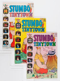 Stumbo Tinytown File Copy Group (Harvey, 1963-66) Condition: Average VF+.... (Total: 11 Comic Books)