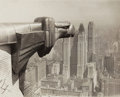 Photographs:20th Century, ANONYMOUS (20th Century). From the Chrysler Building, APphotograph, 1931. Vintage gelatin silver. 7-1/2 x 9-1/2 inc...