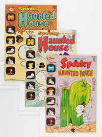 Spooky Haunted House #1-15 File Copy Group (Harvey, 1972-75) Condition: Average NM-.... (Total: 41 Comic Books)