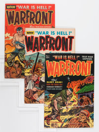 Warfront File Copy Group (Harvey, 1951-67) Condition: Average VF.... (Total: 35 Comic Books)