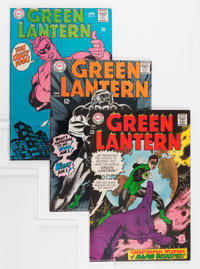 Green Lantern Group (DC, 1967-77) Condition: Average VF.... (Total: 6 Comic Books)