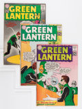 Silver Age (1956-1969):Superhero, Green Lantern Group (DC, 1962-63).... (Total: 4 Comic Books)