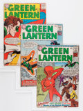 Silver Age (1956-1969):Superhero, Green Lantern Group (DC, 1962-76) Condition: Average VG-.... (Total: 11 Comic Books)