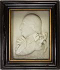 Political:3D & Other Display (pre-1896), George Washington: Period Wax Portrait....
