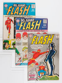 The Flash Group (DC, 1964-71) Condition: Average VG/FN.... (Total: 9 Comic Books)