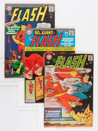 The Flash Group (DC, 1967-85) Condition: Average FN+.... (Total: 57 Comic Books)