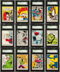 "Non-Sport Cards:Sets, 1966 Donruss ""Marvel Super Heroes"" Complete Set - #2 on the SGC SetRegistry...."