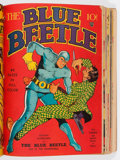 Golden Age (1938-1955):Superhero, Blue Beetle and Others Bound Volume (Columbia, 1939-41)....