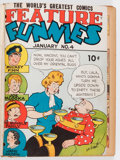 Golden Age (1938-1955):Miscellaneous, Feature Funnies/Feature Comics Bound Volumes (Quality, 1938-40).... (Total: 2 )