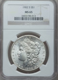 Morgan Dollars, 1902-S $1 MS65 NGC....