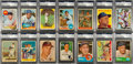 Baseball Cards:Lots, Signed 1960-1969 Multi-Brand Baseball Superstars & Hall ofFamers Card Collection (23). ...