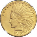 Proof Indian Eagles, 1913 $10 PR65 NGC....
