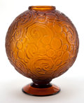 Art Glass:Other , A SABINO GLASS VASE . Verrerie d'Art Sabino, Paris, France, circa1930. Marks: Sabino, France . 12-3/4 inches high (32.4...