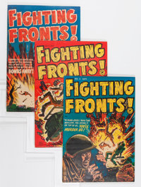 Harvey War Related Comics File Copy Group (Harvey, 1950s-60s) Condition: Average VF.... (Total: 16 Comic Books)